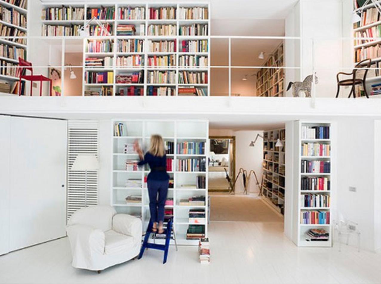 37 идей домашней библиотеки.